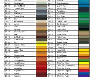 Badger Paint Color Chart Free Connect