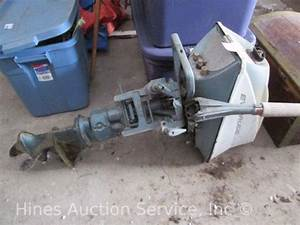 Evinrude Outboard Motor Serial Number Location