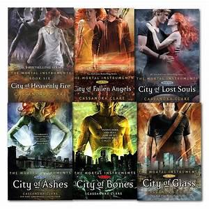 Cassandra Clare Set 6 Books Collection Mortal Instruments ...