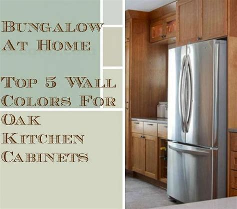 wall color for oak cabinets 5 top wall colors for kitchens with oak cabinets oak