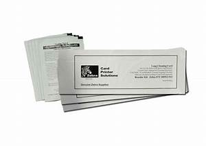 Zxp Series 3 Feeder Cleaning Card  For Use On Zebra Zxp