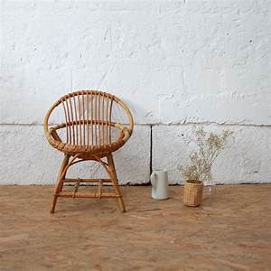 Petit Fauteuil Enfant : fauteuil rotin vintage enfant atelier du petit parc ~ Teatrodelosmanantiales.com Idées de Décoration