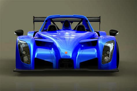 radical reveals  hp sr rsx race track car