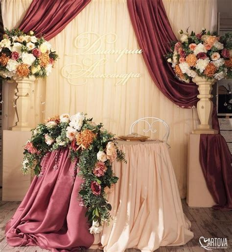 top  luxury sweetheart table decor ideas roses rings part