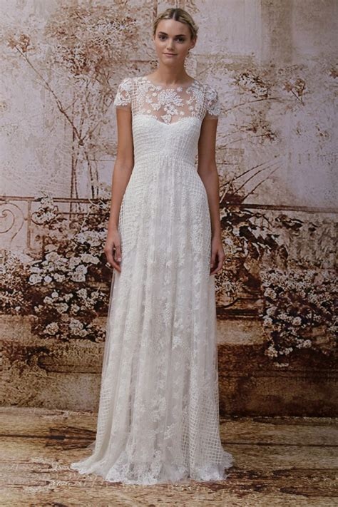 lhuillier s secret garden wedding dress collection