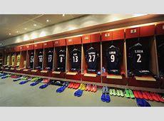 10 vestidores de los grandes equipos de Europa