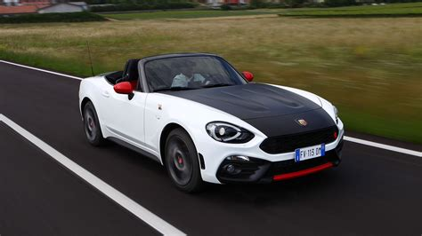 Abarth 124 Spider (2018) Review Gt Version Driven Car