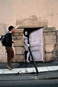 Fun site specific wheatpastes on the streets of france by for Fun site specific wheatpastes on the streets of france by lavalet