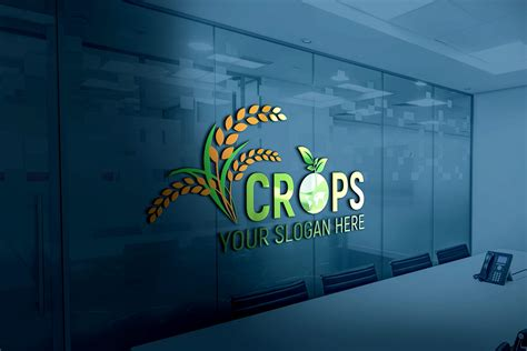 clean farm agriculture logo template graphicsfamily