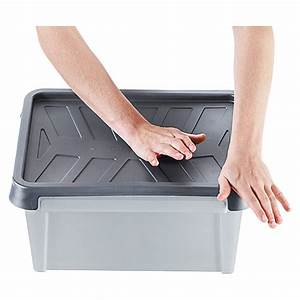 Aufbewahrungsbox 50 X 40 : smartstore aufbewahrungsbox dry 31 l wasserdicht bauhaus ~ Markanthonyermac.com Haus und Dekorationen