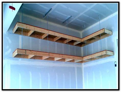 build overhead garage storage diy garage storage ideas home design ideas