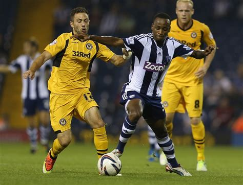West Bromwich: Five players make full debuts in Newport ...