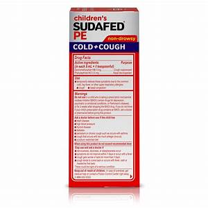 Children 39 S Sudafed Pe Cold Cough Grape Flavor Liquid 4