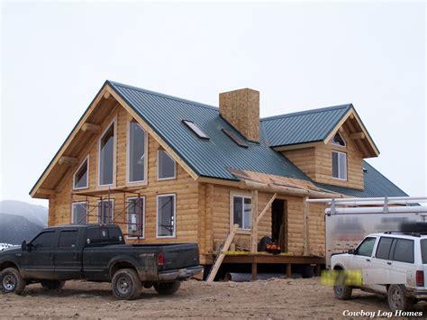 cabin kit homes why log cabin kits are not prefab cowboy log homes