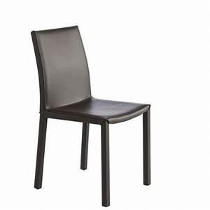 Chaises De Cuisine Modernes : chaise de cuisine moderne gala en vinyl pas cher par perfecta ~ Teatrodelosmanantiales.com Idées de Décoration