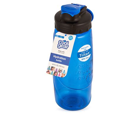Cool Gear Reduce Reuse Recycle Water Bottle 700ml  Blue