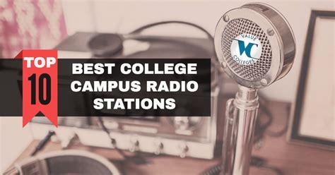 top  college campus radio stations  colleges