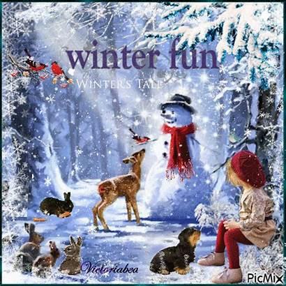 Winter Fun Picmix