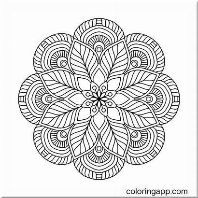 Mandala Mosaicos Coloring Happy Jamie Proyectos Holley