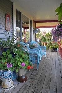 Colorful, Front, Porch, Decorating, Ideas, For, Summer