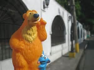 Bear Big Blue House