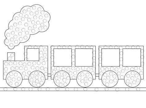 qtip train art printable train crafts preschool  tip painting train activities