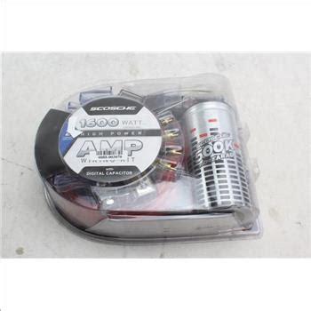 Scosche Kpca Watt Amplifier Wiring Kit Property Room