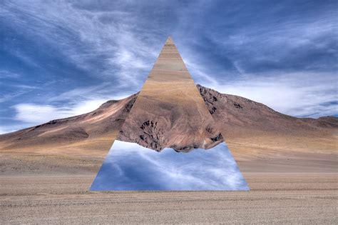 geometric landscapes  graphic design series  anton