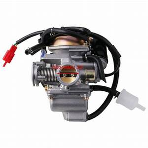 5x 49cc 50cc Scooter Carburetor For Gy6 Four Stroke With