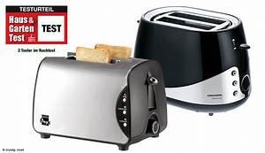 Haus Und Garten Test : 2 toaster im test haus garten test ~ Whattoseeinmadrid.com Haus und Dekorationen