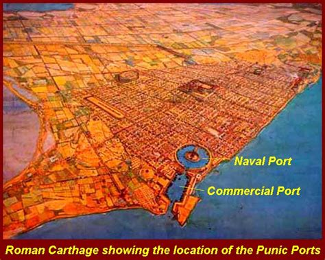 the siege of carthage battle of the port of carthage