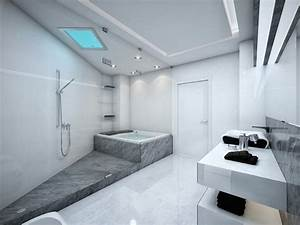 Badezimmer Grau Weiß : mehr als 150 unikale wandfarbe grau ideen ~ Markanthonyermac.com Haus und Dekorationen