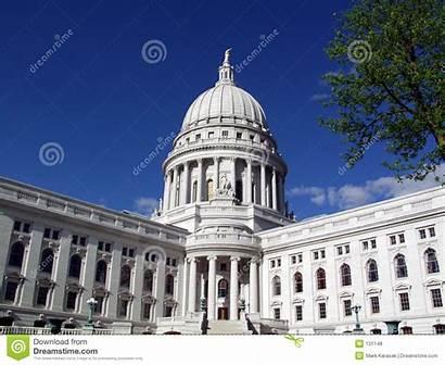 Capital Wisconsin State Madison Staat Kapitaal Het