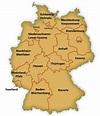 Map of German States