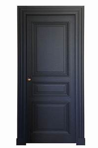 Porte 3 panneaux style haussmann peinte http www for Porte de garage coulissante et porte intérieure 3 panneaux
