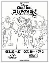 Disney Ice Win Frozen Enter Tickets Drawing Pack Coloring Presents Disneyonice Getdrawings sketch template