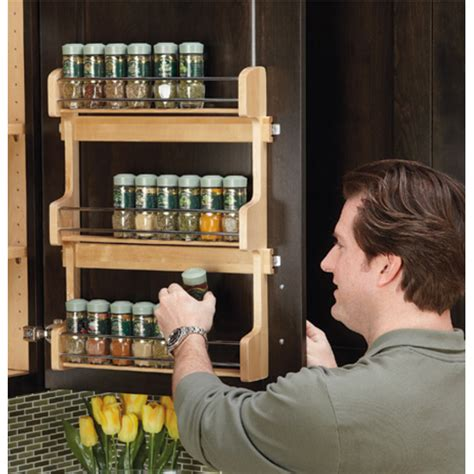 Rev A Shelf Spice Rack by Door Mount Spice Rack By Rev A Shelf Kitchensource