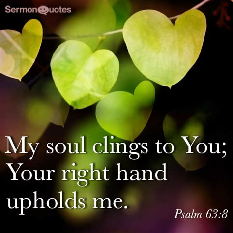 soul clings   sermonquotes