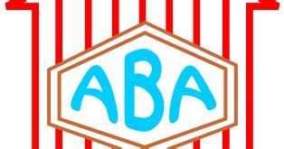 logo akademi bahasa asing aba fch desain grafis