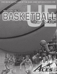 UE Women's Basketball Reference Guide by UE Sports ...