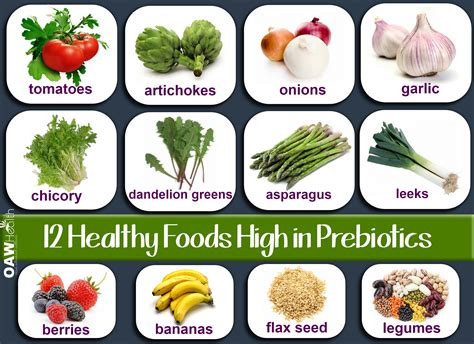 cuisine high healthy foods high in prebiotics