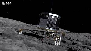 Philae Comet Live On Lands - Pics about space