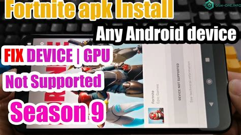 fortnite apk season  install  android device fix