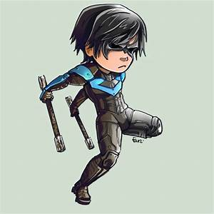 Comish - STK - NightWing by oneoftwo on DeviantArt