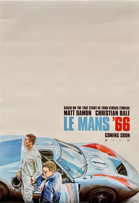 original le mans   poster motor racing ford