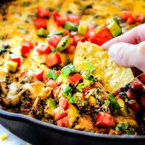 mexican spinach dip real housemoms