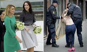 Princess Mary's welcome to the Mexican President ...