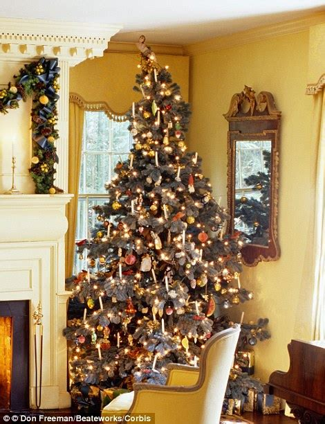 wishing    retro christmas real candles
