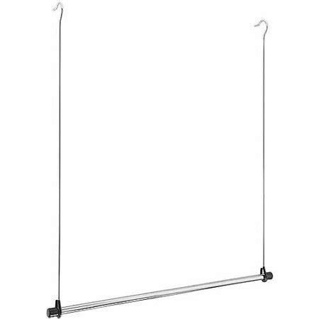 closet hanging rod whitmor manufacturing 6021 378 hang closet rod