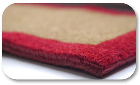 paillasson coco haut de gamme tisse 40 x 80 x 2 4 cm tapis brosse
